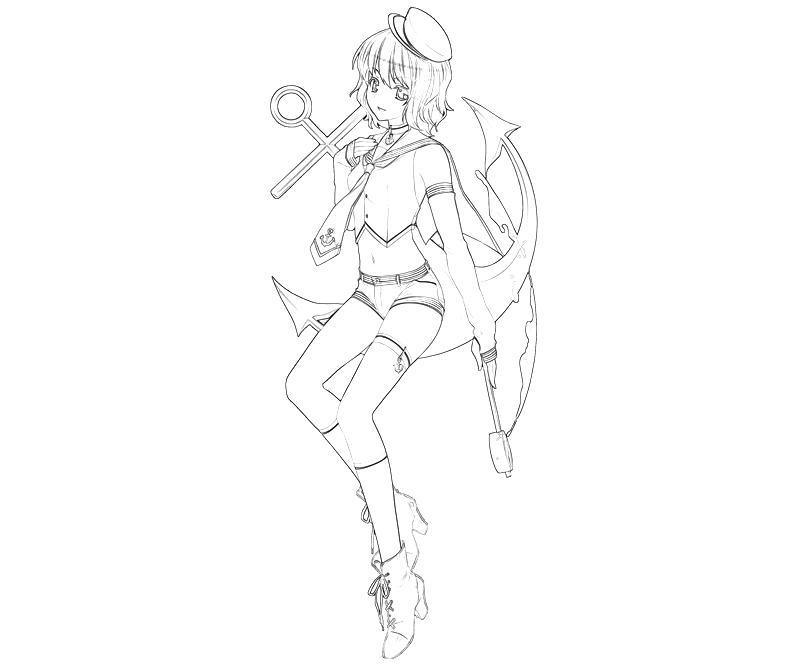 printable-minamitsu-murasa-weapon-coloring-pages