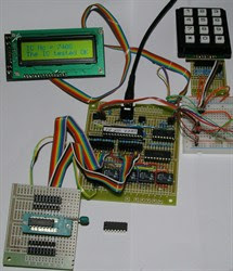 Logic IC Tester using Picaxe