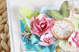 DIY- robimy kwiatki ze stempli