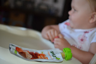 Alice loves Sprouts Organic Baby Food 1