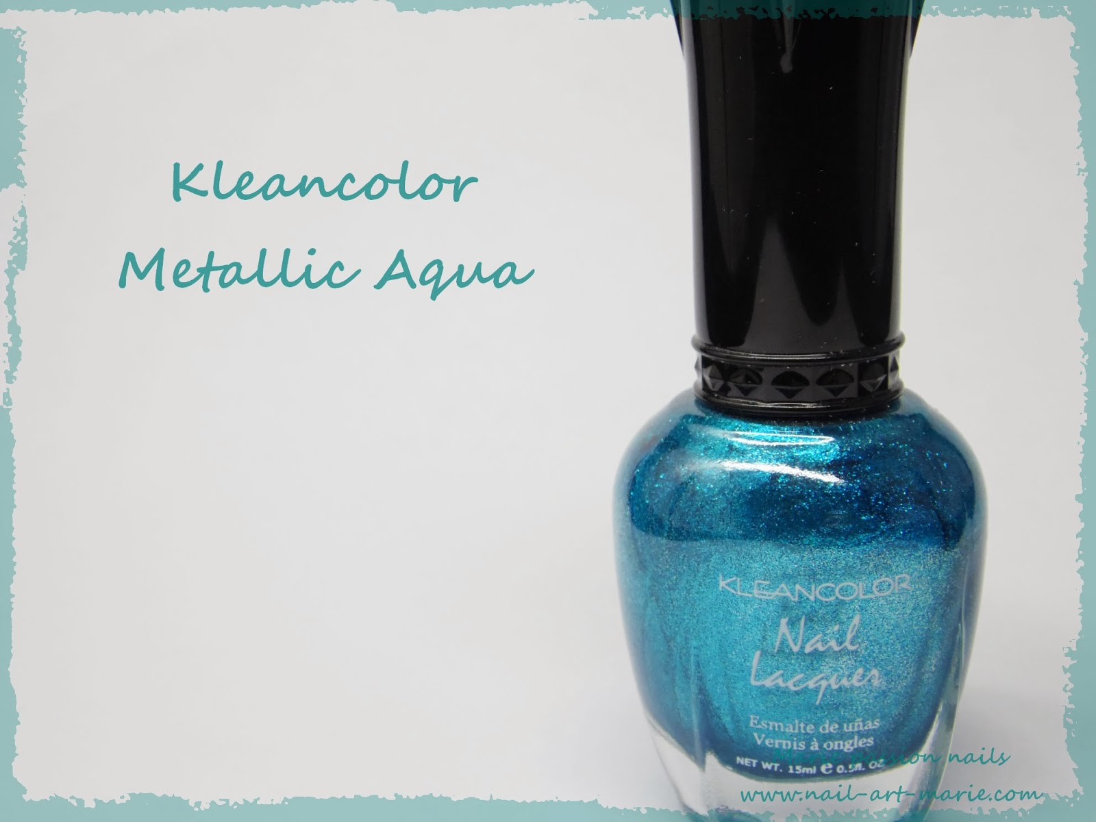 Kleancolor Metallic Aqua1