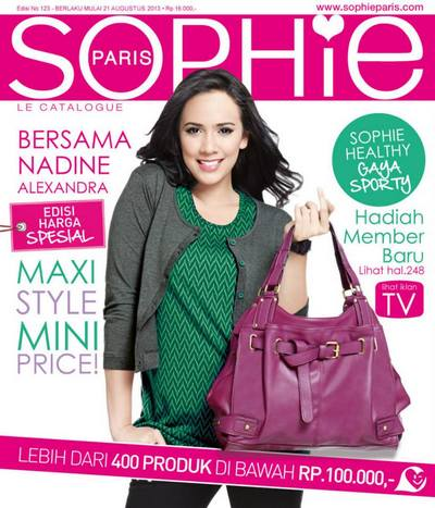 Katalog Sophie Martin Terbaru September 2013