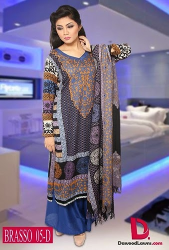 Dawood Brasso Collection with SHAWL