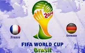Francia (eliminado) 0 - 1 Alemania.