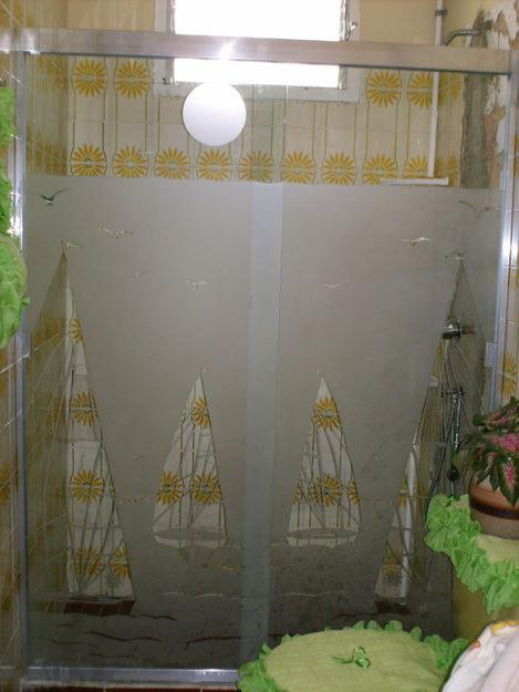 Imagenes De Puertas Para Baño De Aluminio:GOOD GLASS: CORTINAS DE BAÑO EN ALUMINIO Y VIDRIO