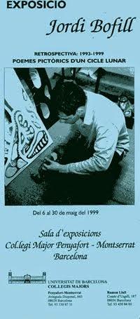 1999.EXPOSITION. BARCELONA UNIVERSITY. RETROSPECTIVE 1993·1999