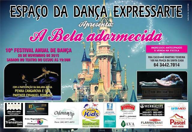 10º Festival Anual de Dança A Bela Adormecida Escola Expressarte