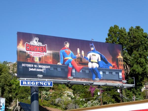 Robot Chicken DC Comics Special 3 billboard