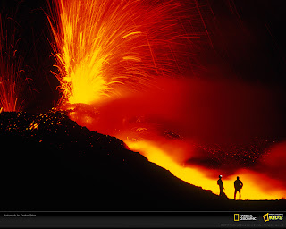 Mount Etna Eruption National Geographic Photo