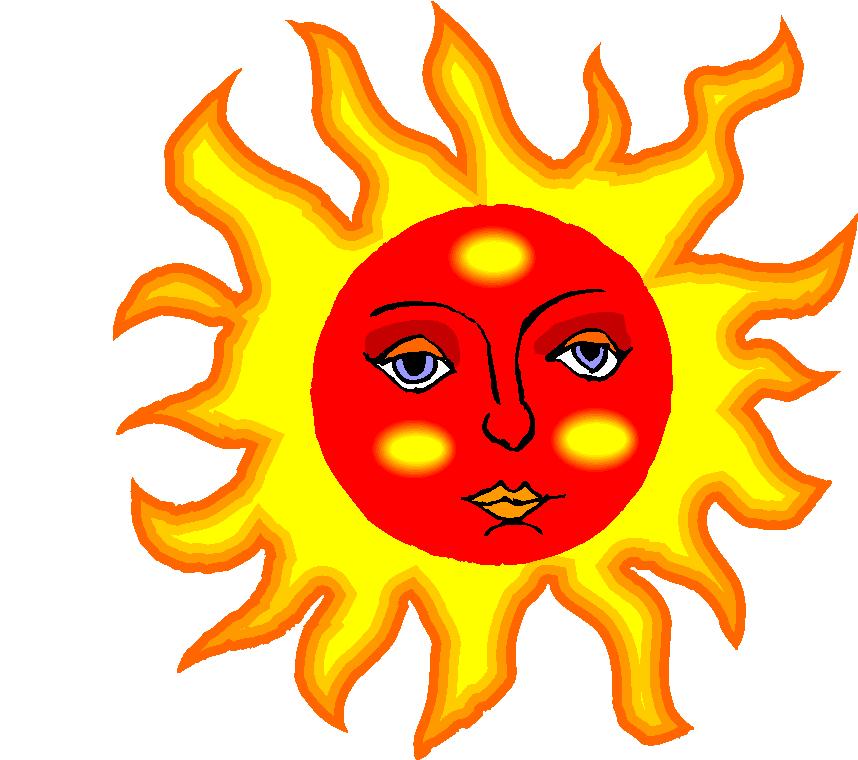 The Sun Cartoon Free Clipart