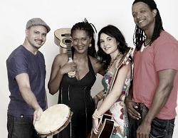 Grupo de samba Sururu na Roda