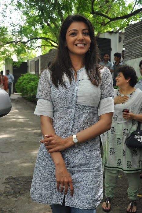 kajal agarwal at dhada pressmeet, kajal new actress pics