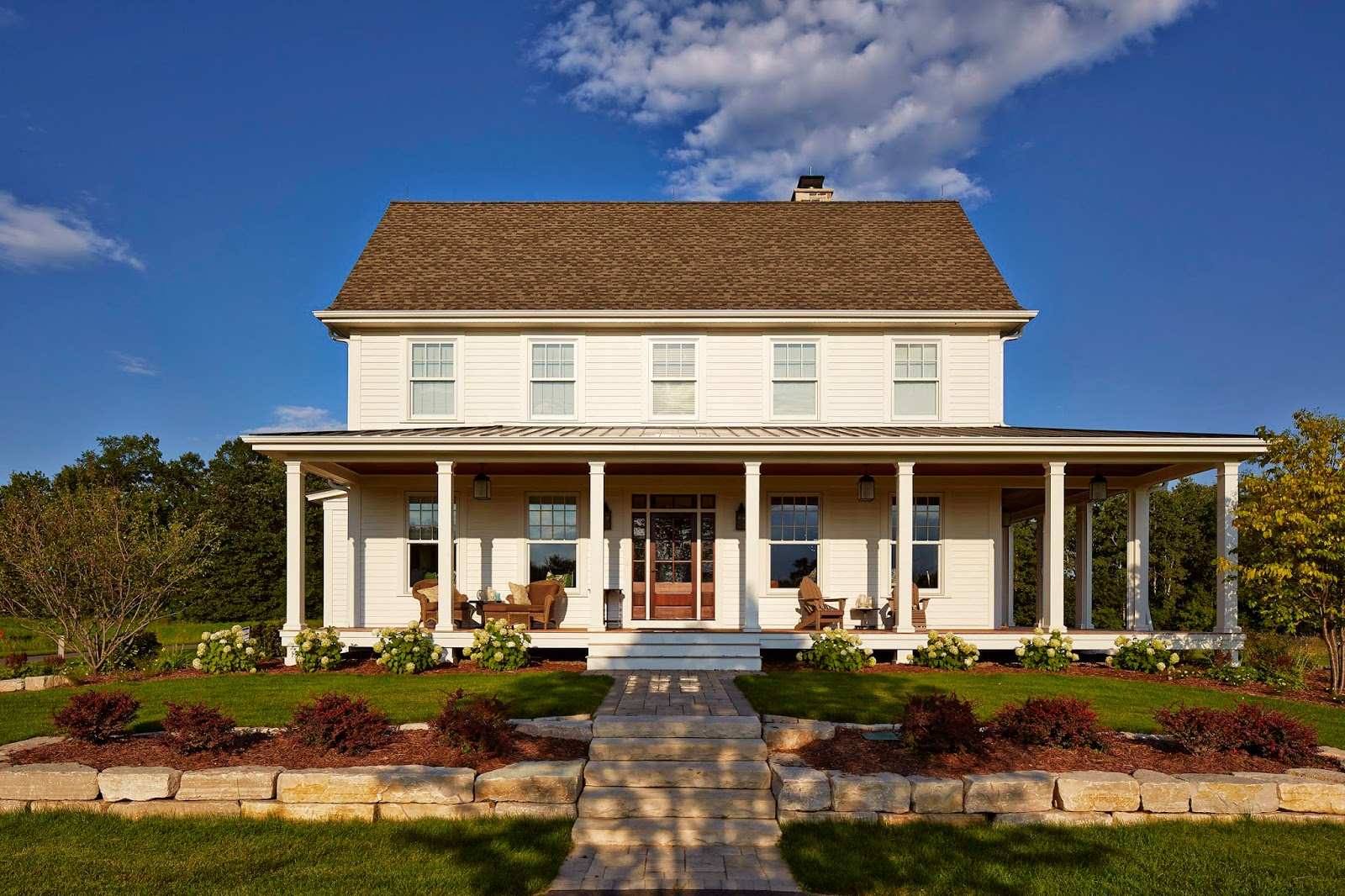 Simply elegant home designs blog new greek revival Elegant farmhouse plans