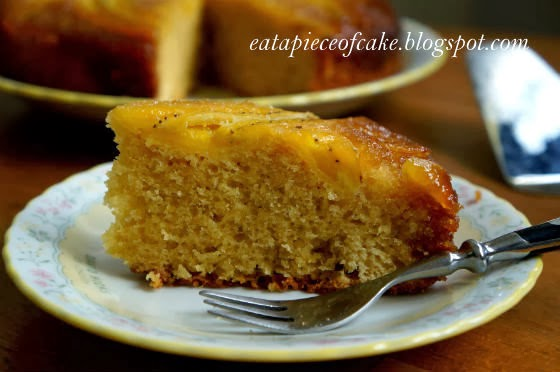Piece of Cake: Banana Maple Upside Down Cake