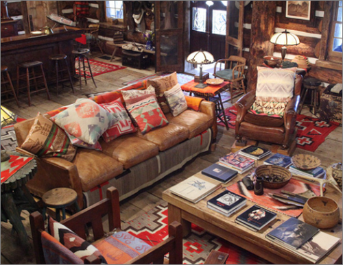 What I Love About These Interiors Is That Ralph Lauren Is Not Afraid To  Celebrate The Rustic, The Aged, The Faded, The Frayed And The Simple. Part 85