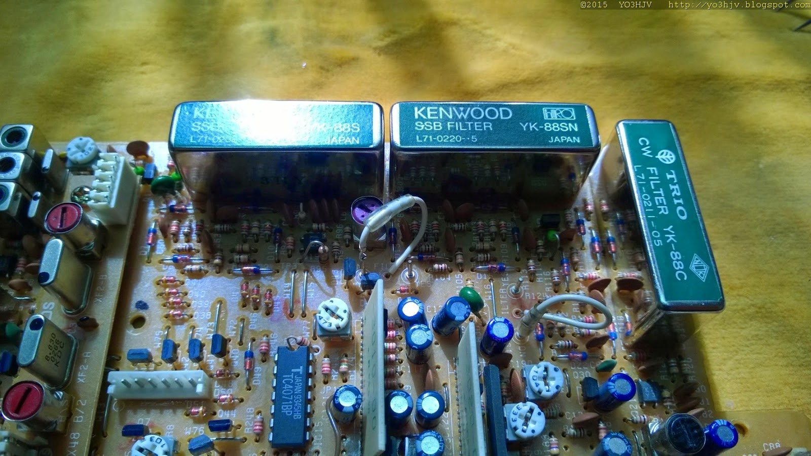 Yo3hjv Make An Am Radio Receiver With Three Transistors Circuit Caroldoey Some Pictures The New Filters Installed