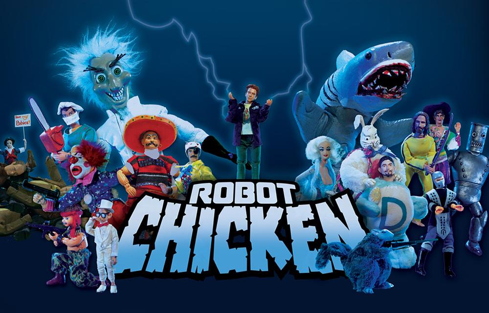 Robot Chicken - Parodies The CW Network