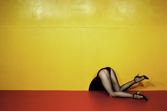 Photo by Guy Bourdain from Guy Bourdin: Image Maker at Somerset House