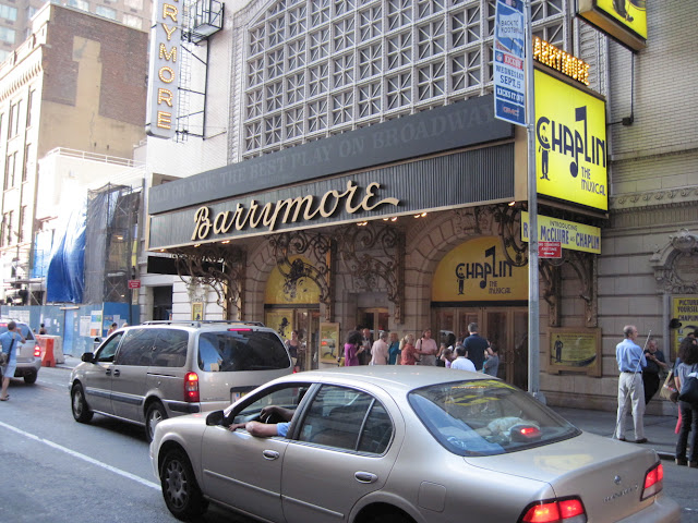 Chaplin The Musical is playing at the Old New York theater the Barrymore