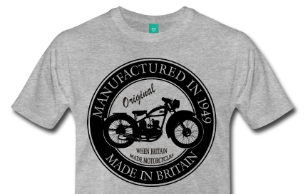 Biker Birthday t-shirt