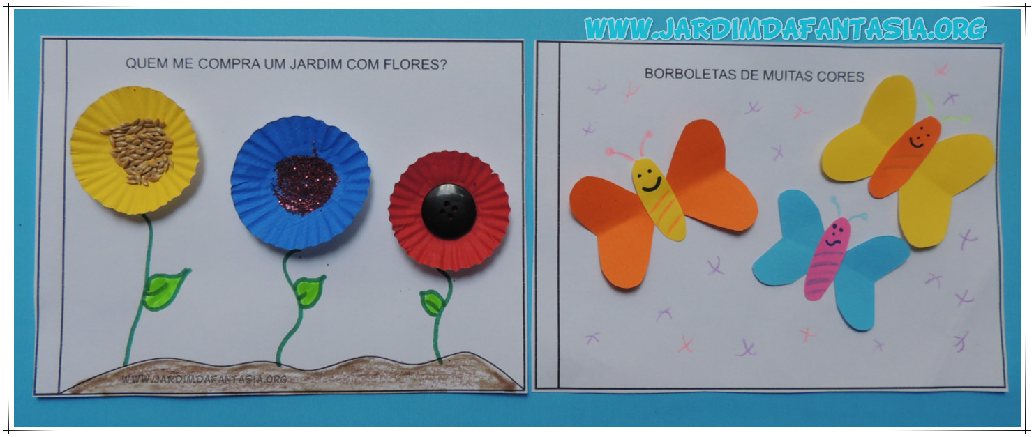 flores no jardim poema : Atividades Jardim da Fantasia: 12 Atividades de Artes com ...