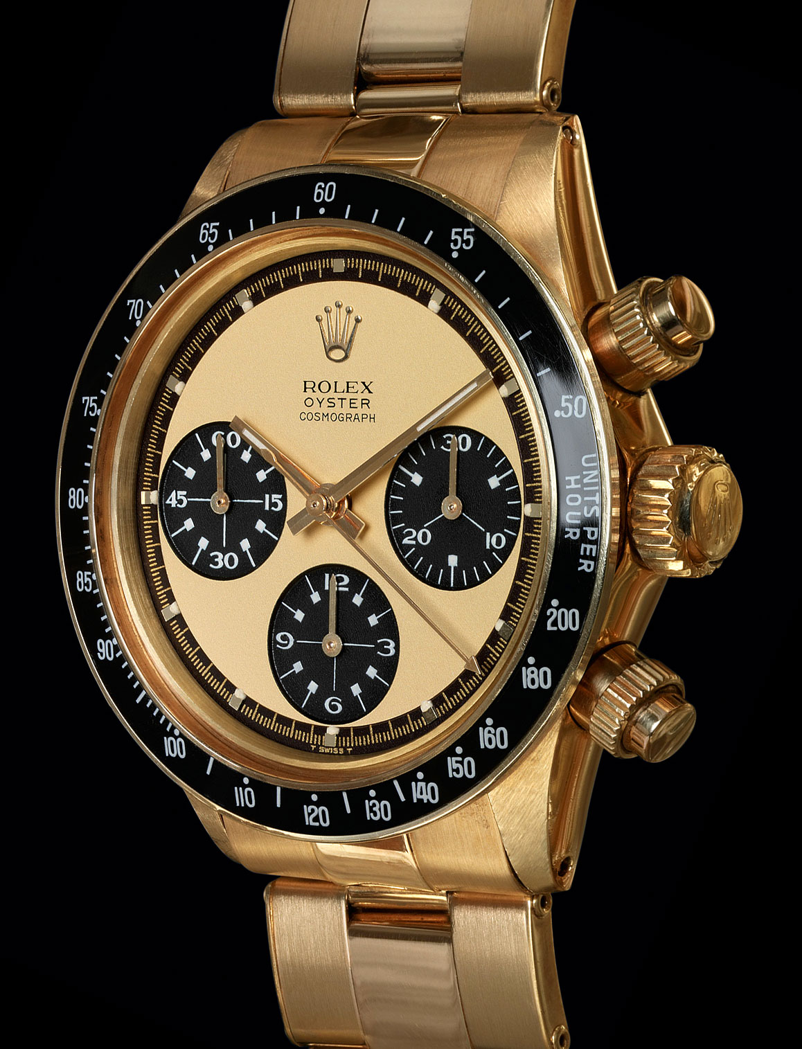Rolex watch daytona gold collection for Gold timepieces watch
