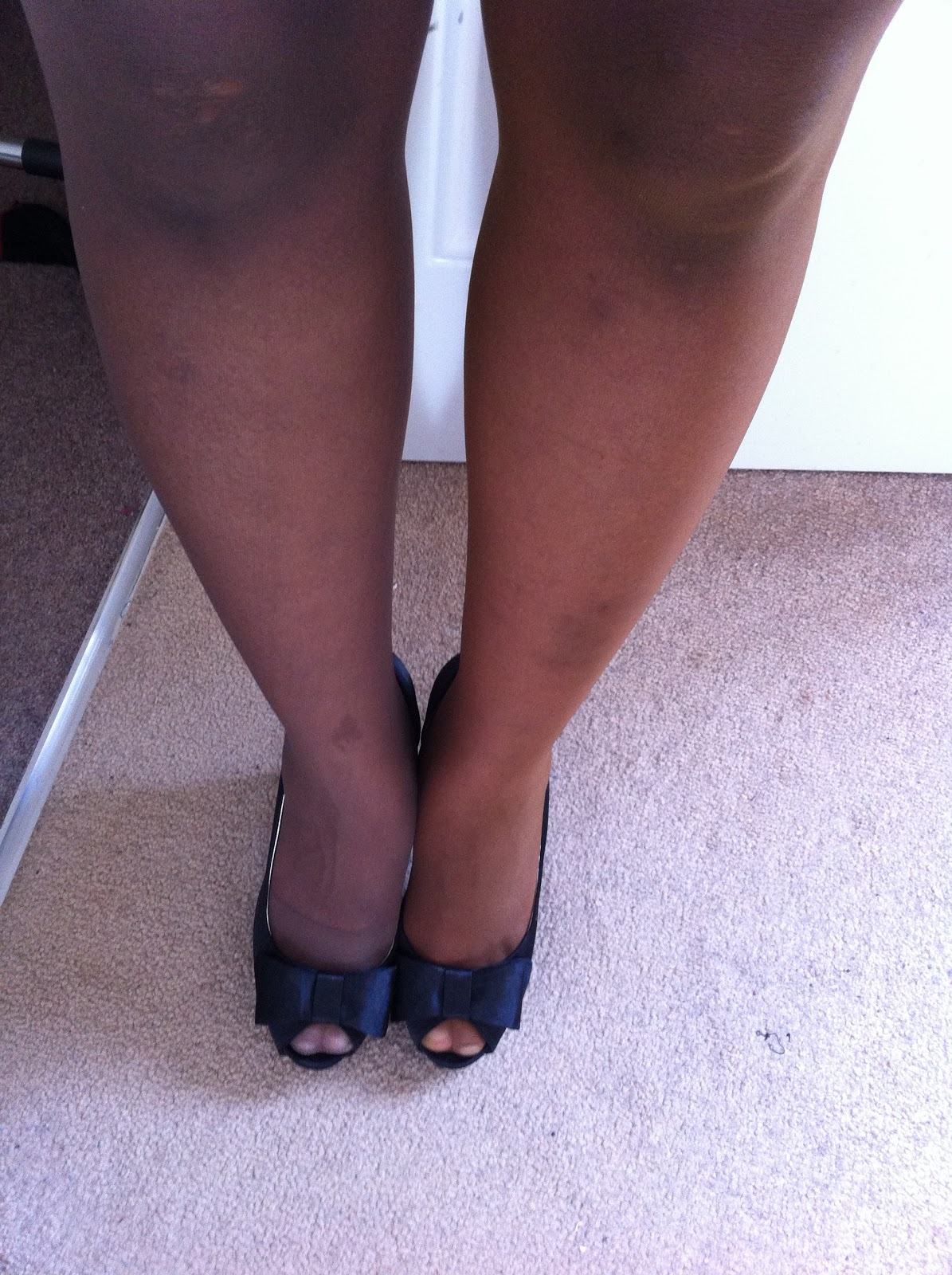 Legs Under Table : So if your are looking for good quality tights for women of colour ...