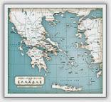 Μυθολογικός χάρτης της Ελλάδας