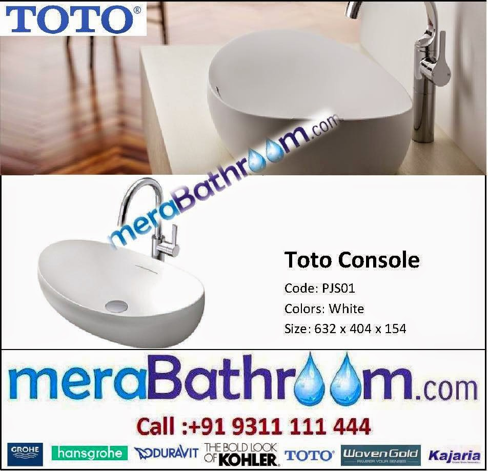 Make My Bath: Toto Console Lavatory- PJS01