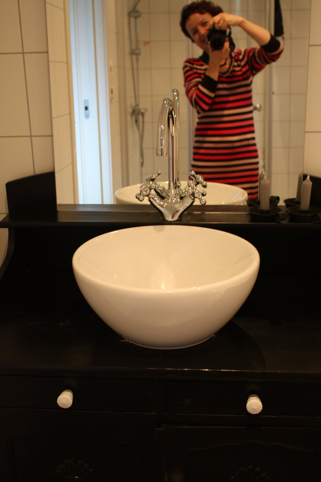 #B21F19 Dette års HusGlede: Vask På Kommoden! Fritstående Køkkenbord Med Vask 4831 106716004831
