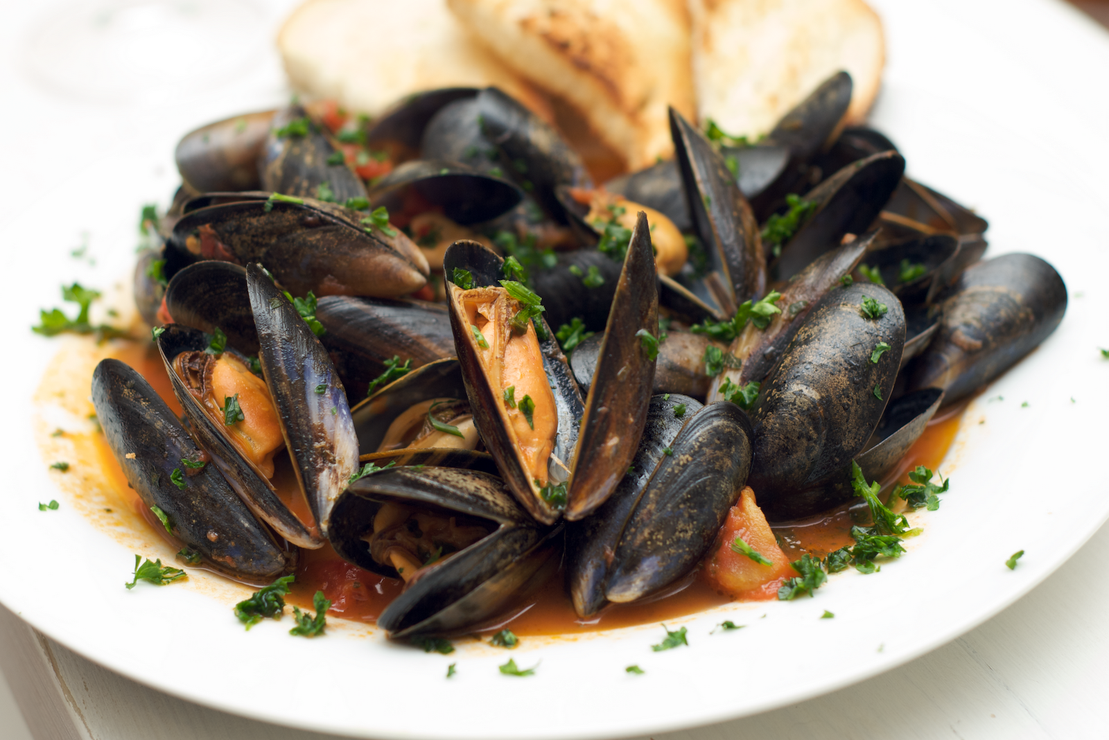 Mussels In Spicy Tomato Sauce Recipes — Dishmaps