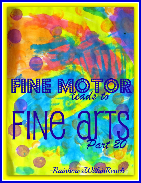 photo of: Fine Motor Friday: Fine Motor Leads to Fine Arts, Issue #20, Insects, bugs and buzzy things