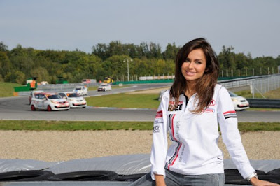 Natalia Siwiec na Kia Lotos Race