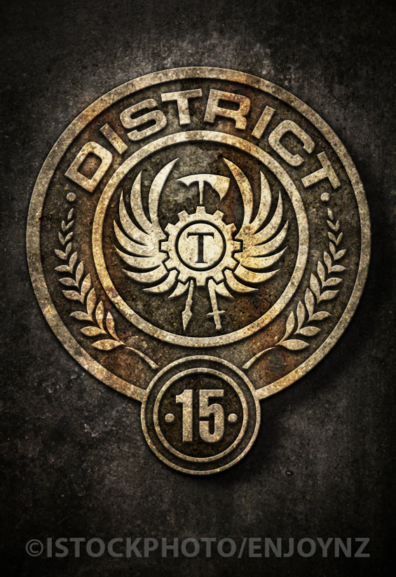 A Blog By Marchie Naap Project I Hunger Games District Seal