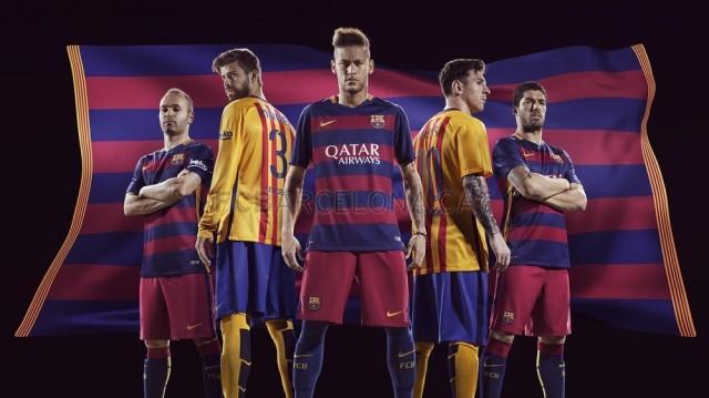 Foto Tim Barcelona Terbaru Musim 2015-2016 : Bola (Penting)