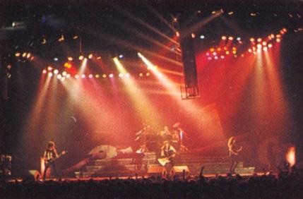 Fotografía de un concierto de Metallica en 1989 de la gira Damage Justice Tour. Autor: Freakshit (cc:by-sa)