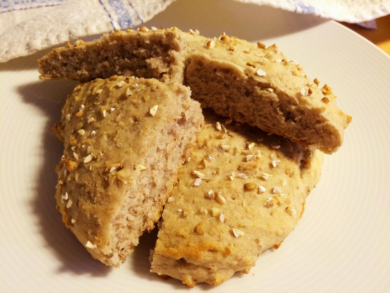 bovetebröd med bakpulver