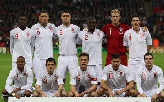 Squad timnas Inggris Euro 2012