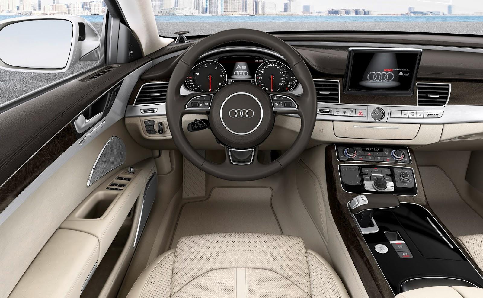 2014 Audi A8 TDI Interior
