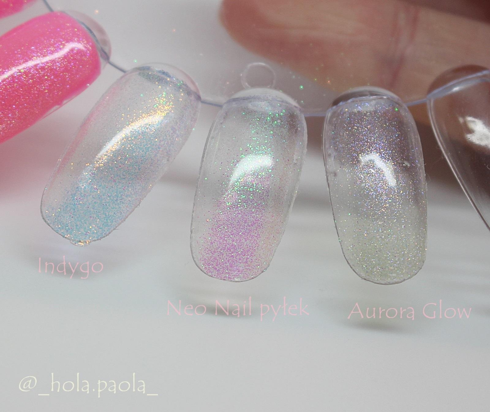 Efekt syrenki indygo gdzie kupić ile kosztuje jak zrobić hybryda neo nail aurora glow