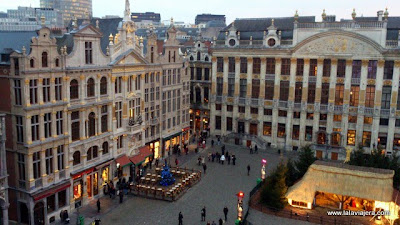 Casas Gremiales Grand Place Bruselas