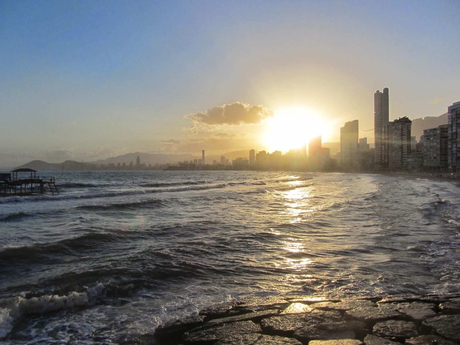 Vista de la Costa de Benidorm