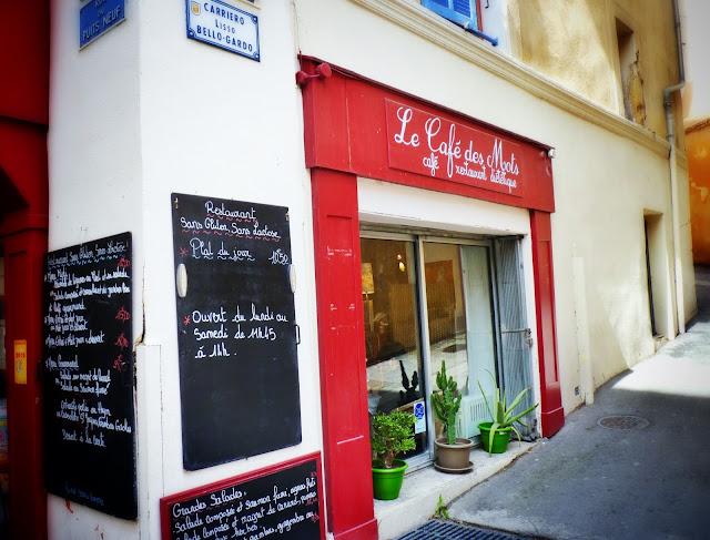 cafetería Aix en Provence
