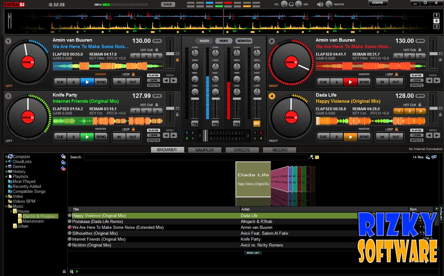 Download Virtual DJ Pro 8.0.1872 Full Crack Gratis Terbaru