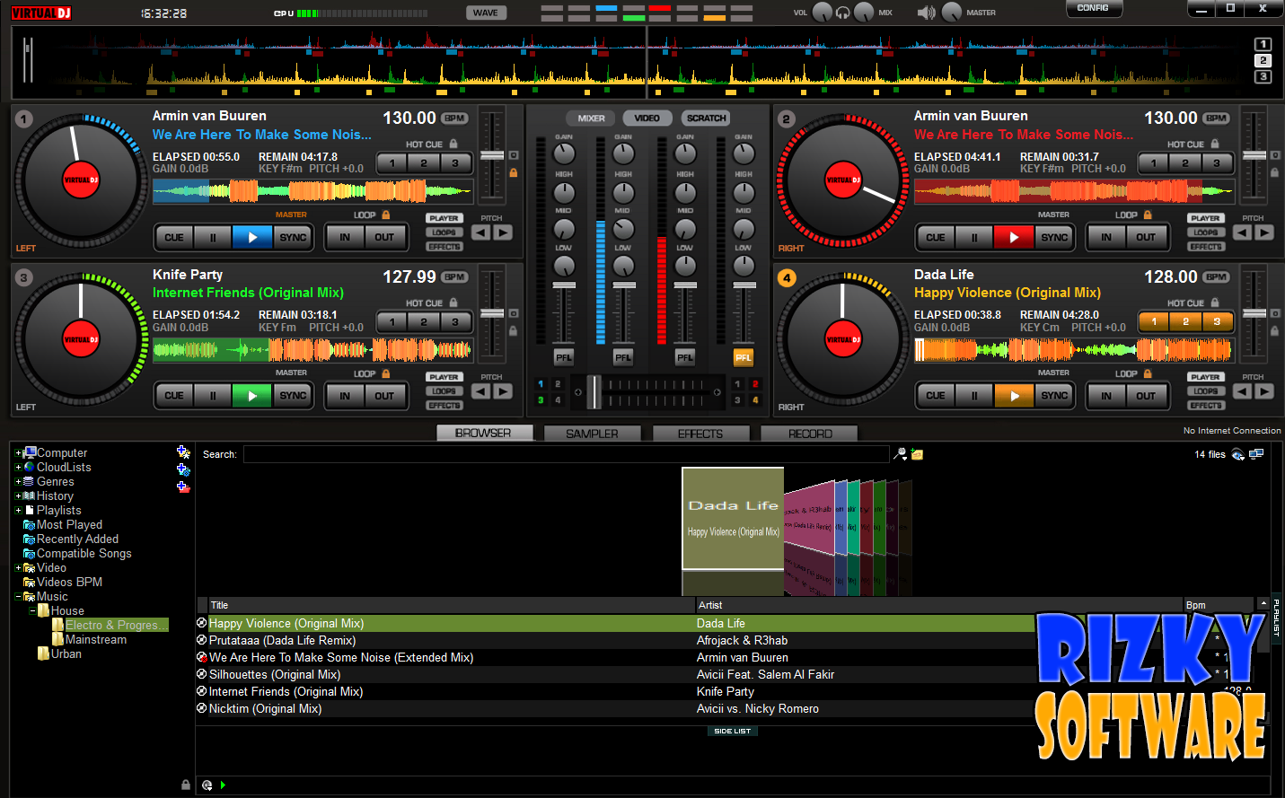 SD NEGERI O RANOMEETO: Virtual DJ 8.0.1872 Terbaru Gratis