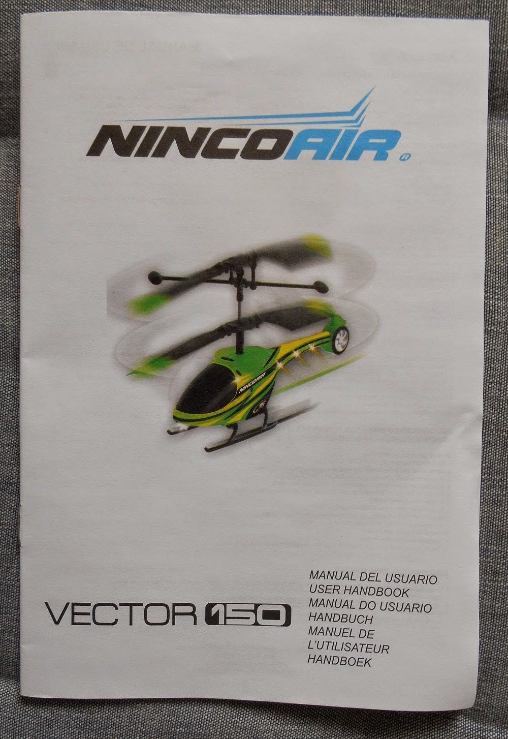 manual del usuario de helicóptero nincoair vector150