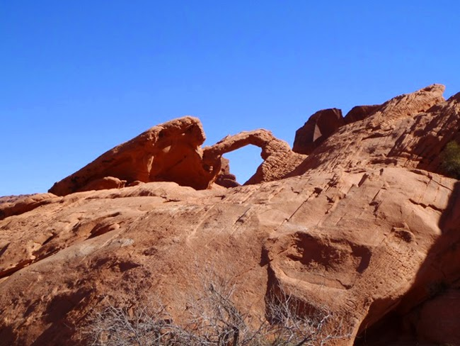 Little Arch Rock Valley of Fire