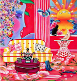 For The Love of Mary - Inspired by Peter Max