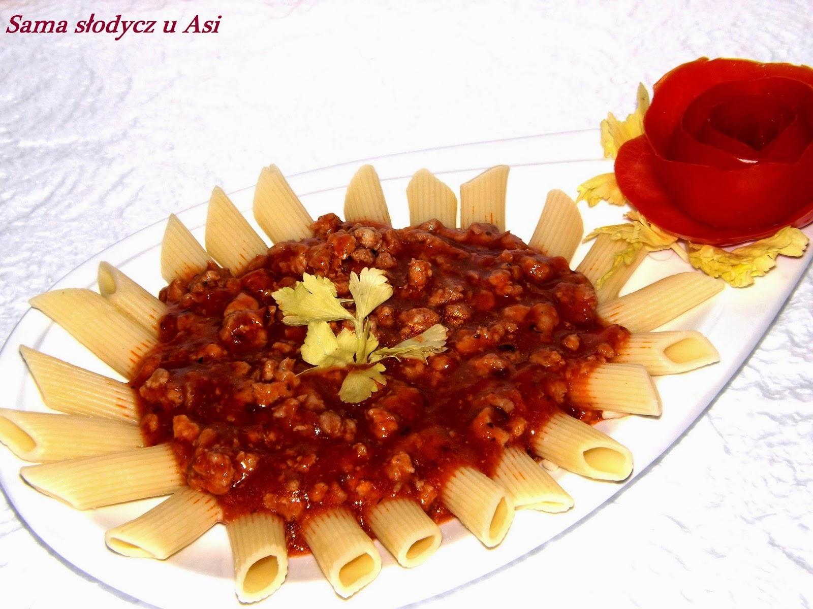 Makaron z Sosem Spaghetti Orzech
