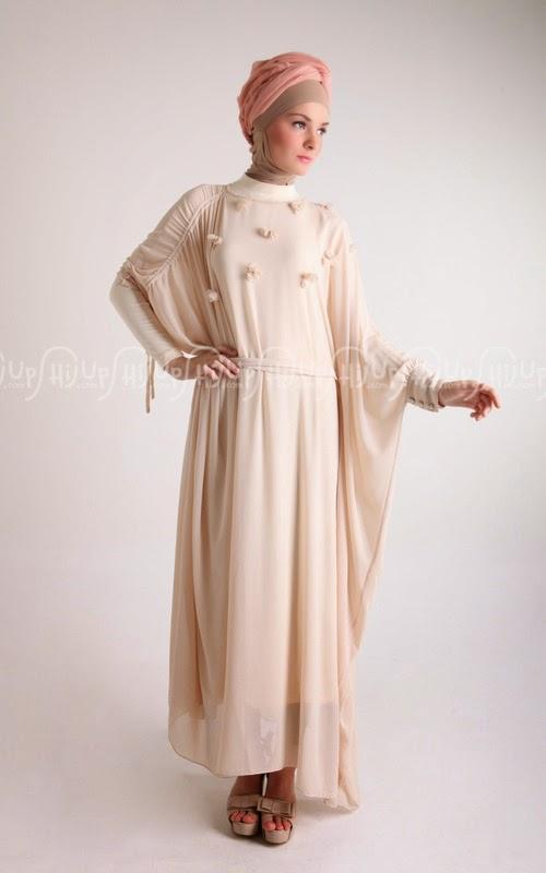 gaun malam muslimah
